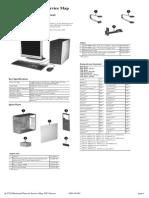 HP Dc5750 Service Map