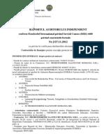 Raport Audit Germostim Etapa 2