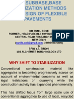 Methods of Soil and Base Stabilization