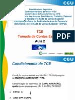 Curso TCE - 2013 - 2
