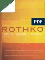 Mark Rothko. Íntimo, Sublime y Trágico (Descubrir El Arte)