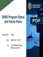GNSS Program Status and Future Plans