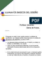 Elementos Basicos Del Diseño.
