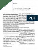 Charectrizatinon Hematite Particles