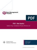 ITIL the Basics