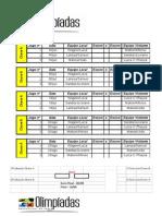 Tabela Dominó