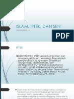 ISLAM, IPTEK, DAN SENI.pptx