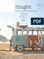Shine On Summer Spirit // LPHR's Daily Motivation // July 2014
