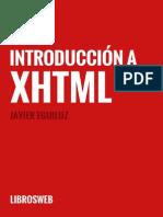 Introduccion a Xhtml