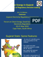 Solar Energy in Gujarat-Cape Town
