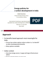 Low C Policies BRICSAM Feb2014 Prayas