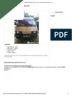 Mobil Daihatsu Zebra Thn 91 - OLX.co.Id (Sebelumnya Tokobagus
