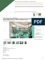 Genset Merk Onan - 100kva - Made in Usa - Lainnya Dijual Jawa Timur - Surabaya - Berniaga