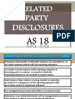 As 18 - Related Party Relationships