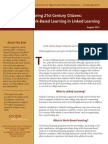Preparing 21st Century Citizens Role Work Based Learning Linked Learning