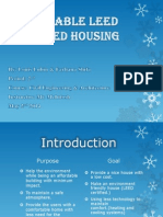 affordable leed certified housing  powerpoint 1