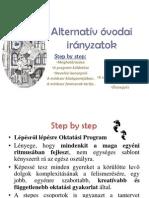 Alternatív óvodai irányzatok