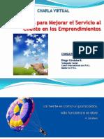 Charla Virtual Consejos SERVICIO 2014
