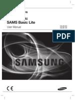 Samsung SSA-M1000 M1100 User Manual