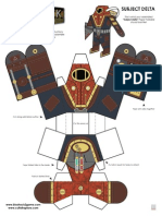 Subject Delta Papercraft