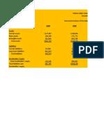 ACC 291 Week 5 Balance Sheet Income Statement