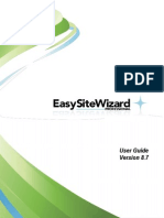Easy Site Wizard Professional User Guide