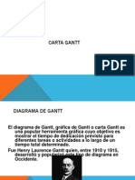 Carta Gantt Adm.mantencion
