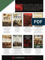 Pen and Sword World War I Leaflet