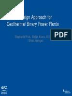 GFZ BinaryPlantDesign