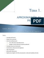 Presentación Clase_TEMA 1. Aproximación Al Proyecto
