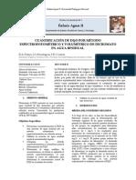 Cuantificación de Dqo Por Método Espectrofotométrico y Volumétrico de Dicromato en Agua Residual