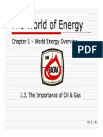 01C - The Importance of Oil & Gas