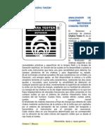 Analizador de Chakras y Biotensor Chakra Tester