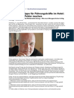 Managementtipps für Führungskräfte im Hotel