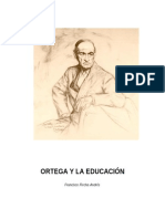 Ortega y La Educación