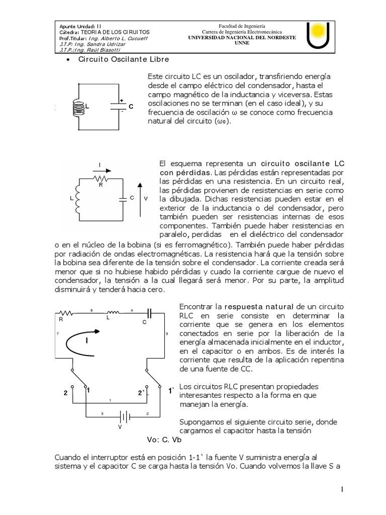 Circuito Lc : Circuito lc