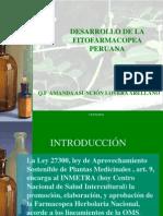 Desarrollo de La Fitofarmacopea