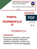 PERFIL TROMBOFILICO
