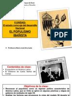 POPULISMO IBAÑISTA