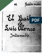 Partitura Banda Completa-el Baile de Luis Alonso -Intermedio- (Zarzuela)