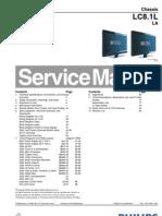 Manual de Servicio LCD Philips Modelo LCD 42PFL3403 Chasis LC8.1L LA