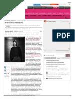 Aviso de Derrumbe - Cultura - EL PAÍS