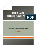 User Manual Aplikasi PCU