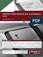 Europe Cross-Border B2C E-Commerce 2014