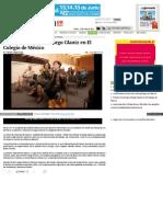 Rinden Homenaje a Margo Glantz en El Colegio de México