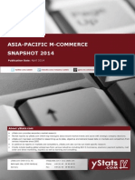 Asia-Pacific M-Commerce Snapshot 2014