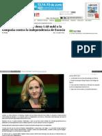 Autora de Harry Potter Dona 1.68 Mdd a La Campaña Contra La Independencia de Escocia