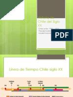 Historia de Chile Segunda Mitad Del Siglo XX
