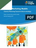 Marketing frameworks