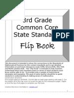 math cc flip book